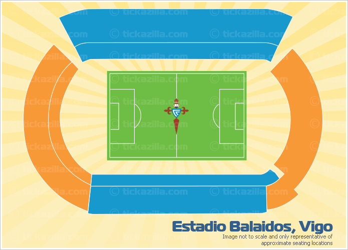 Estadio Balaidos, Vigo, Spain